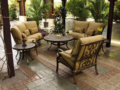 Castelle - Veracruz Cushion Lounge Swivel Rocker - 4015T