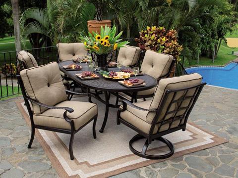Castelle - Monterey Cushion Chaise Lounge - 5812T