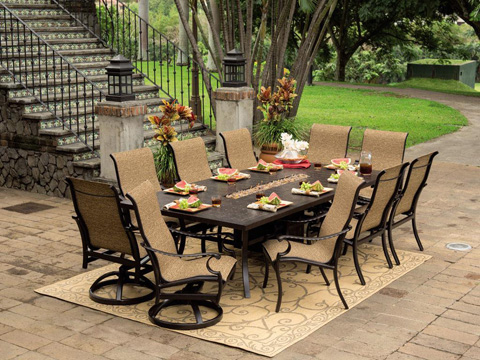 Castelle - Monterey Sling Dining Chair - 5896S
