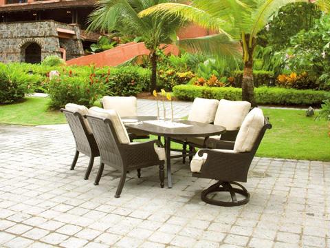 Castelle - Jakarta Cushion Dining Chair - 7206T