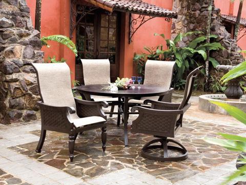 Castelle - Jakarta Sling Dining Chair - 7286S