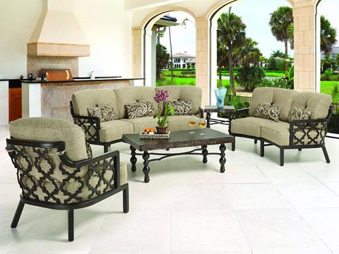 Castelle - Belle Epoque Cushioned Lounge Chair - 2910T