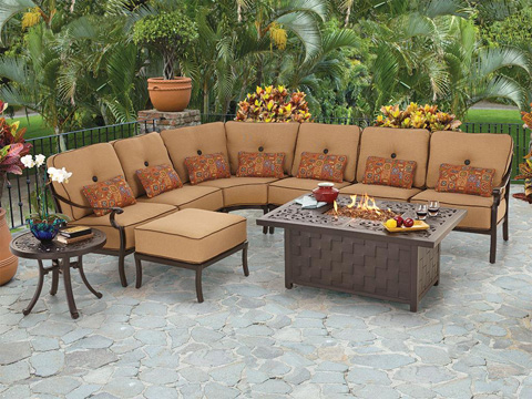 Castelle - Monterey Sectional Armless Lounge Chair - 5824T