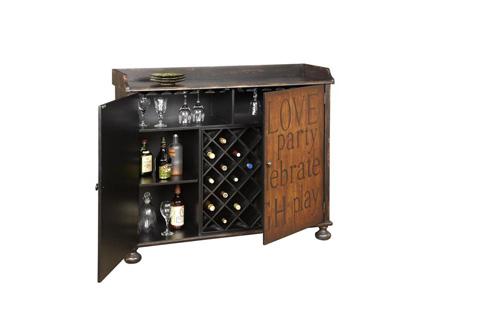 Pulaski - Accentrics Inspirational Wine Cabinet - 549159