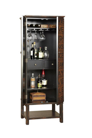 Pulaski - Greenwich Village Wine Cabinet - 549162