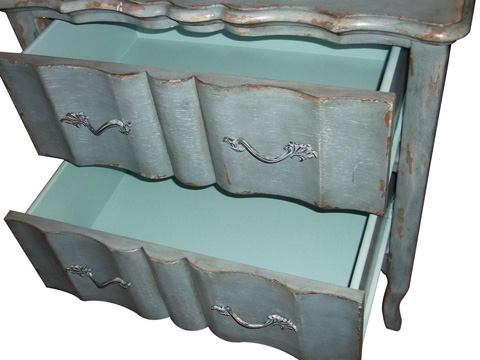 Pulaski - Rustic Blue Accent Chest - DS-730010