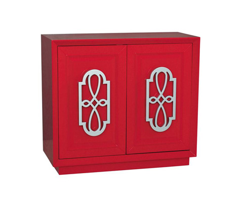 Image of Bold Red Accent Chest