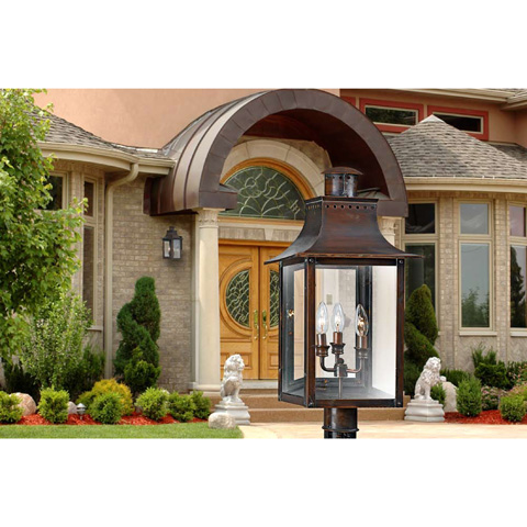 Quoizel - Chalmers Outdoor Lantern - CM8408AC