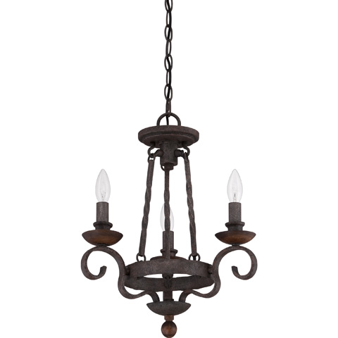Quoizel - Noble Chandelier - NBE5303RK