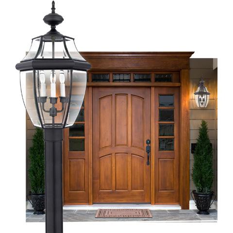 Quoizel - Newbury Outdoor Lantern - NY9043K