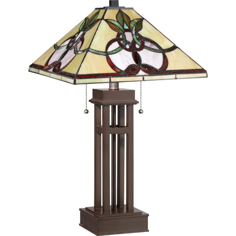 Quoizel - Tiffany Table Lamp - TF1913TRS