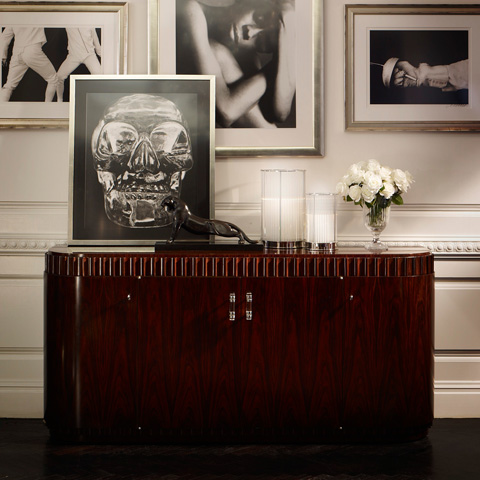 Ralph Lauren by EJ Victor - Art Deco Dining Cabinet - 1866-21