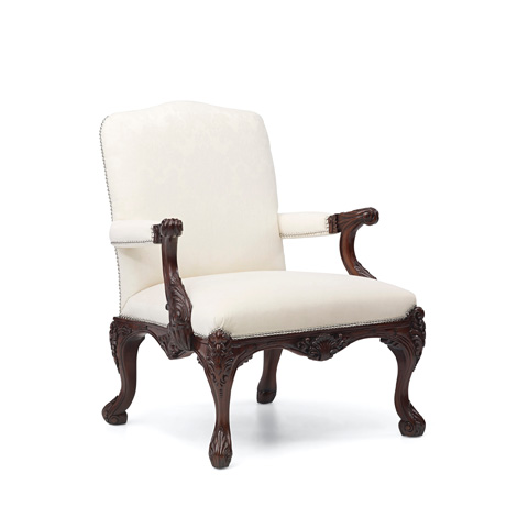 Ralph Lauren by EJ Victor - Clivedon Carved Chair - 112-03