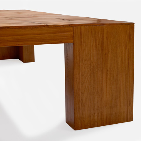 Ralph Lauren by EJ Victor - Crushed Bamboo Coffee Table - 4000-40