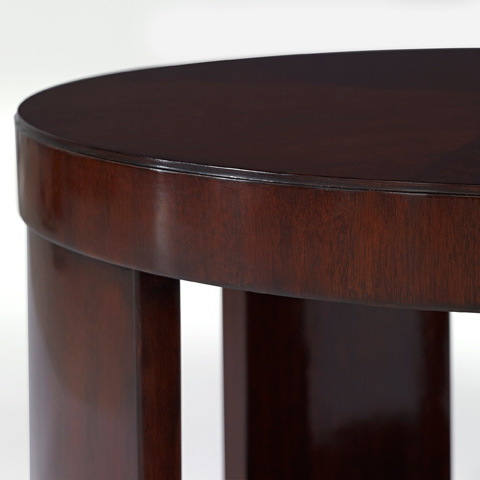 Ralph Lauren by EJ Victor - Modern Drum End Table - 7603-42