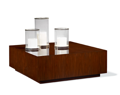 Ralph Lauren by EJ Victor - Modern Hollywood Plinth Base Cocktail Table - 1604-40