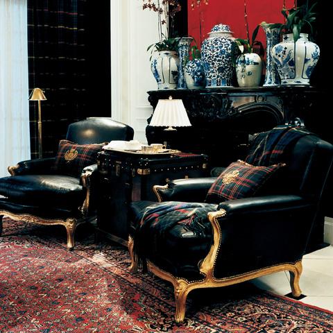 Ralph Lauren by EJ Victor - Noble Estate Club Chair - 081-03