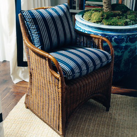 Ralph Lauren by EJ Victor - Jamaica Wicker Dining Chair - 047-03
