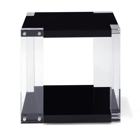 Ralph Lauren by EJ Victor - Brook Street Acrylic End Table - 33001-41