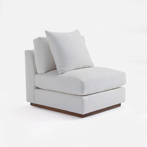 Ralph Lauren by EJ Victor - Desert Modern Slipper Chair - 831-03S