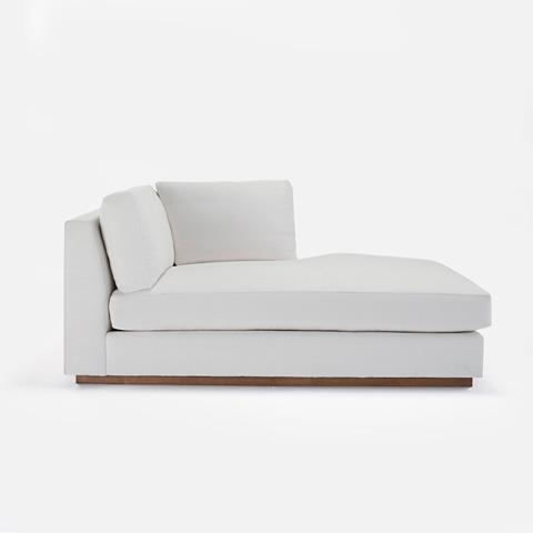 Ralph Lauren by EJ Victor - Desert Modern Chaise - 831-06L