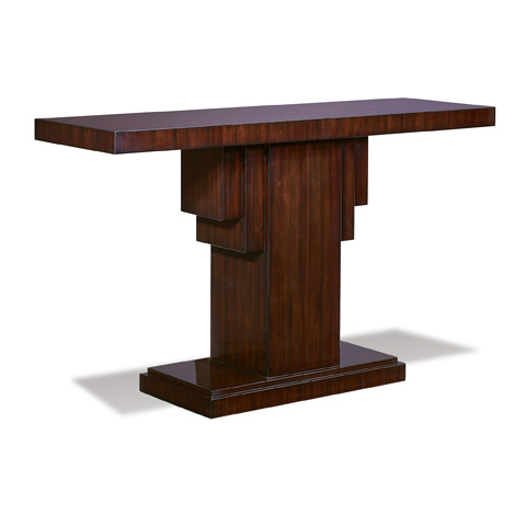 Ralph Lauren by EJ Victor - Penthouse Suite Pedestal Console Table - 35001-44