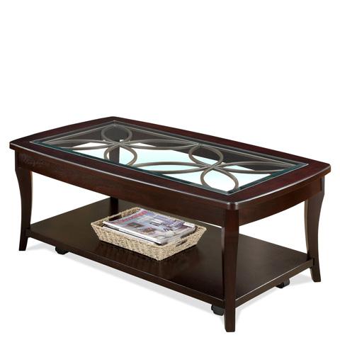 Riverside Furniture - Rectangular Cocktail Table - 12401