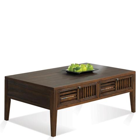 Riverside Furniture - Open Slat Coffee Table - 15303