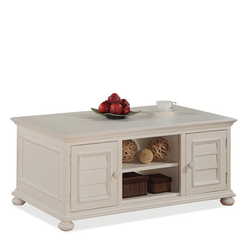 Riverside Furniture - Cabinet Coffee Table - 16701