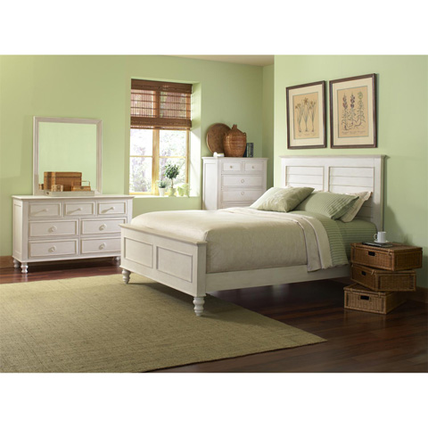 Riverside Furniture - Queen Louver Bed - 16778