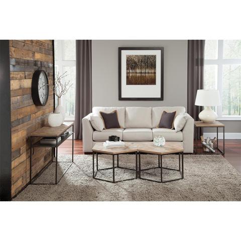 Riverside Furniture - Square Side Table - 18309