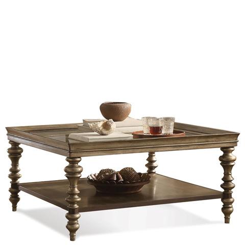 Riverside Furniture - Square Coffee Table - 19901