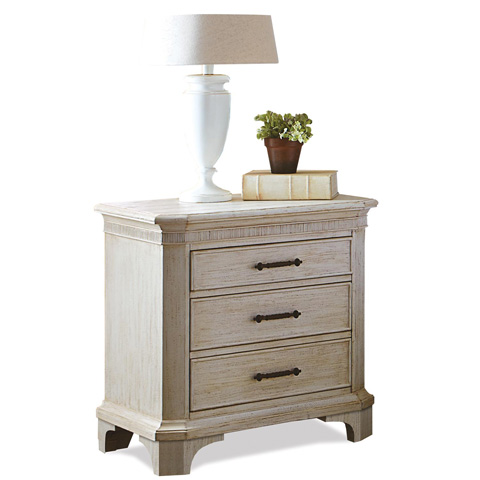 Riverside Furniture - Three Drawer Nightstand - 21268
