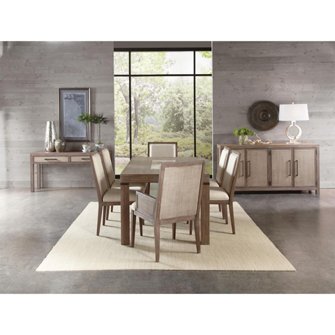 Riverside Furniture - Cane Upholstered Arm Chair - 26258