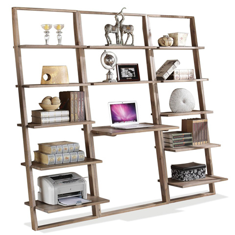 Riverside Furniture - Leaning Bookcase - 27837