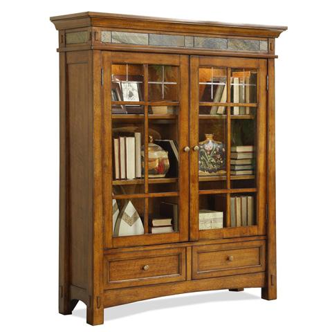 Riverside Furniture - Door Bookcase - 2937