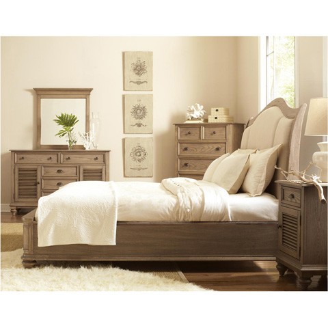 Riverside Furniture - Shutter Door Nightstand - 32469