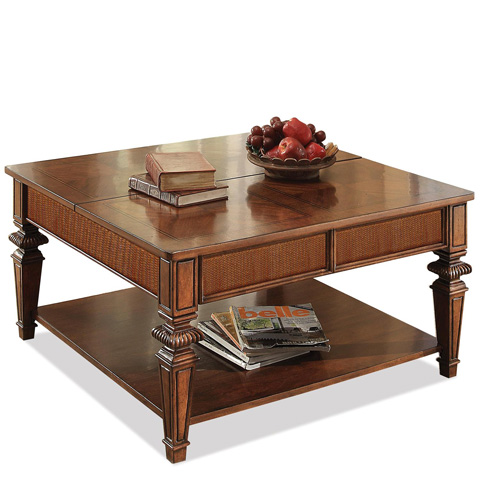 Riverside Furniture - Square Lift Top Coffee Table - 42801