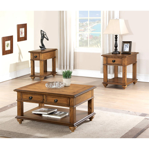 Riverside Furniture - Chairside Table - 65212