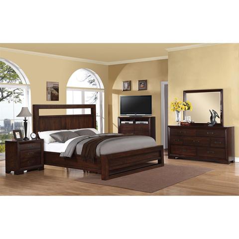 Riverside Furniture - Queen Panel Bed - 75870
