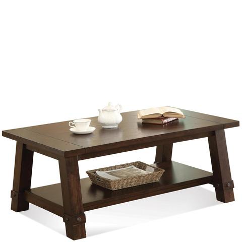 Riverside Furniture - Angled Leg Coffee Table - 76501