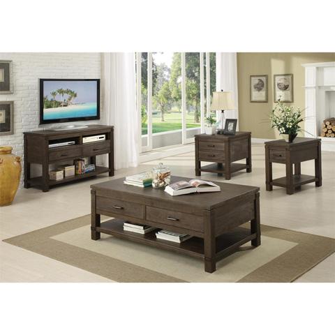 Riverside Furniture - Rectangular Side Table - 84509