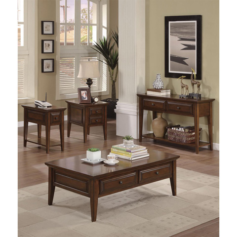 Riverside Furniture - Chairside Table - 92010