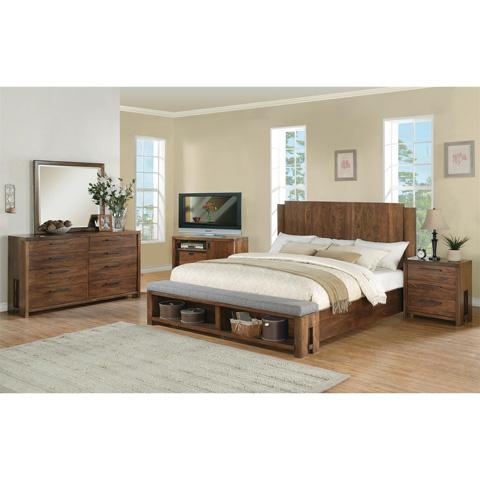 Riverside Furniture - Queen Panel Bed - 98870