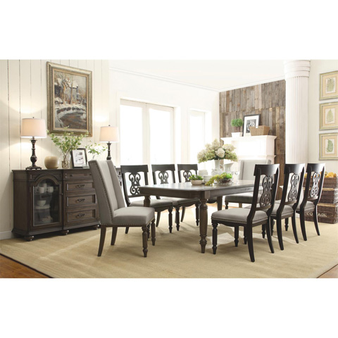 Riverside Furniture - Scroll Upholstered Side Chair - 15857