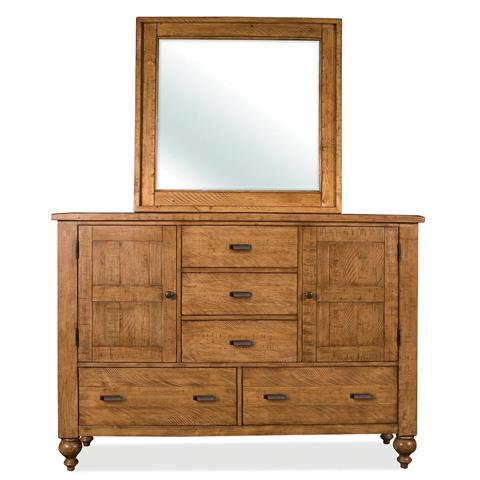 Riverside Furniture - Landscape Mirror - 91663