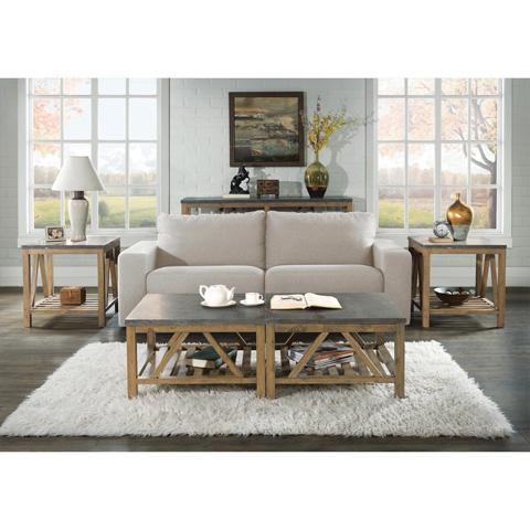 Riverside Furniture - Rectangular Side Table - 16509