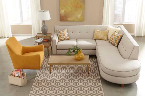 Rowe Furniture - Dorset Sectional - K520-116/K520-119