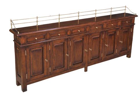 Sarreid Ltd. - Covent Garden Sideboard in Cognac - 25295-3