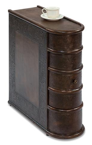 Sarreid Ltd. - Leather Book Side Table - 26181